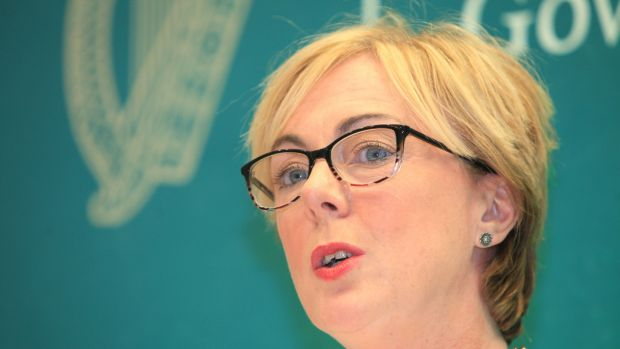 Regina Doherty says a decision on the National Broadband Plan needs to be made very quickly. Photograph: Garrett White/Collins