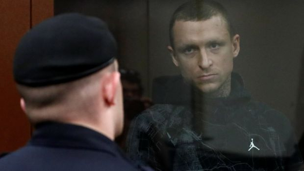 Pavel Mamayev at the hearing. Photo: Sergei Karpukhin/Reuters