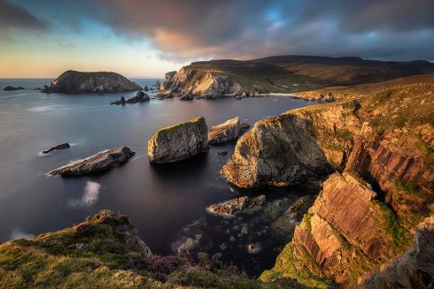 Finalist of An Taisce Clean Coasts Love Your Coast Photography Competition, Photographer Pawel Zygmunt, Seastack Kingdom, taken at An Port, Donegal
