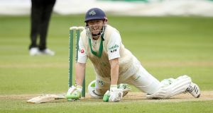 Ireland's Niall O'Brien has announced his retirement from cricket. Photo: Oisin Keniry/Inpho