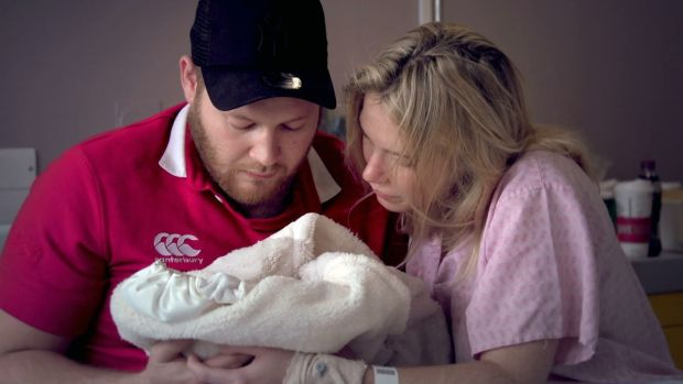 Child of Mine: Vicki and Bruce with their stillborn daughter Ruby