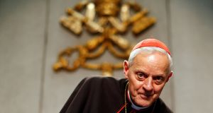 A file photograph of Cardinal Donald Wuerl. Photograph: REUTERS/Alessandro Bianchi/