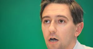 Simon Harris: 'It was disgraceful conduct. He should apologise and correct the record of the Dáil'. Photograph: Collins