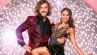 Strictly Come Dancing's Seann Walsh with his dance partner Katya Jones: the pair were seen kissing on a night out. Photograph:    Ray Burmiston/BBC/PA Wire