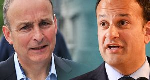 "Fianna Fáil leader Micheál Martin wrote to Taoiseach Leo Varadkar: ""I think it is best if we both state upfront, irrespective of what happens during the confidence and supply review process, that we both agree not to bring down the Government""."