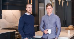 Moovingo co-founders Tony Deane (left) and Jack Brady