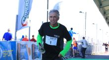 1972 Olympic gold medallist Frank Shorter mostly sticks to the 10km these days. Photograph: Aidan Tarbett