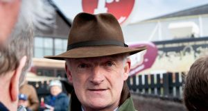 Willie Mullins fields seven runners for the newly-enriched Dubai English Cesarewitch at Newmarket on Saturday. Photograph: Morgan Treacy/Inpho