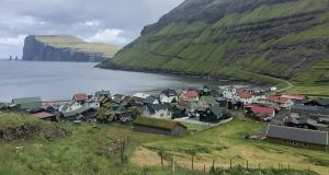 Tvøroyri village, on Suðuroy, the southernmost of 18 mountainous islands that make up the Faroe Islands. Photograph: Joseph O'Connor
