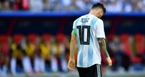 Argentina's Lionel Messi is seen by many as the greatest player ever. Photograph: Reuters