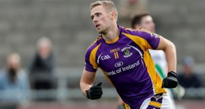 Paul Mannion scored three points as Kilmacud Crokes booked a place in the Dublin SFC Final with a victory over the Ballyboden St Enda's at Parnell Park. Photograph: Laszlo Geczo/Inpho
