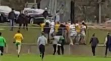 "GAA pitch-side violence Turning a blind eye has conjured the cult of the ""hard man"", usually some hero whose talents run from niggling and sledging an opponent to distraction or if that fails blindsiding them with a sly cowardly dig"