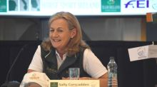 Irish eventing team manager Sally Corscadden.