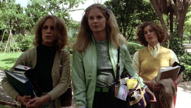 Halloween: Jamie Lee Curtis, PJ Soles and Nancy Loomis in John Carpenter's 1978 film