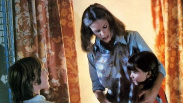 Halloween: Jamie Lee Curtis with Kyle Richards and Brian Andrews in John Carpenter's 1978 film