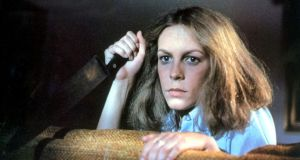 Halloween: Jamie Lee Curtis as Laurie Strode in John Carpenter's 1978 film