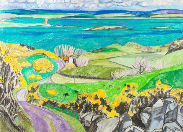 "Jacqueline Stanley's ""Roaring Water Bay towards Kilcoe"" (2000s)"