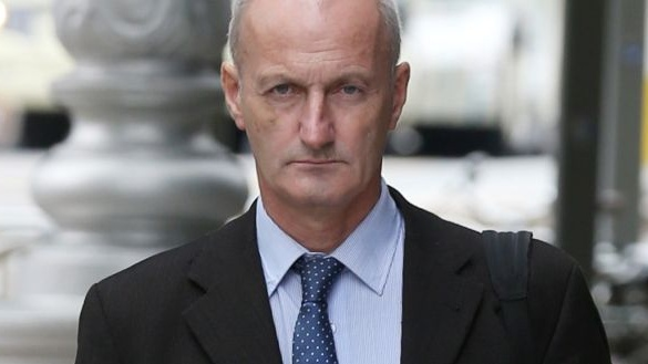 Seán Carraher (55), of Stradbrook Hill, Blackrock, Dublin, was jailed in 2016 for five years for harassment of the garda sergeant by posting messages online. File photograph: Collins Courts.