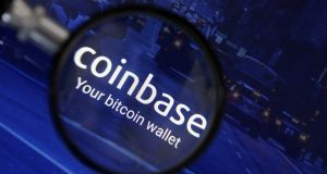 Coinbase cryptocurrency exchange: The company is currently hiring   compliance managers and support analysts for its Dublin office.  Illustration: Chesnot/Getty