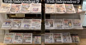 INM's various newspaper titles on display