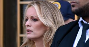 Money now owed by Stephanie Clifford (Stormy Daniels) to compensate Trump's team of lawyers for their work on the case will not be insignificant. File photograph: Hector Retamal/Getty Images
