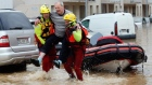 Flash floods rage in France as four months' rain falls in six hours