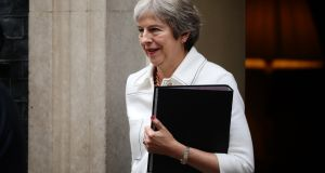 British prime minister Theresa May has so far shown little sign of moving away from her Chequers plan. Photograph: Dan Kitwood/Getty Images