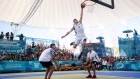 Youth Olympics: Local favourite flies high in men's dunk competition