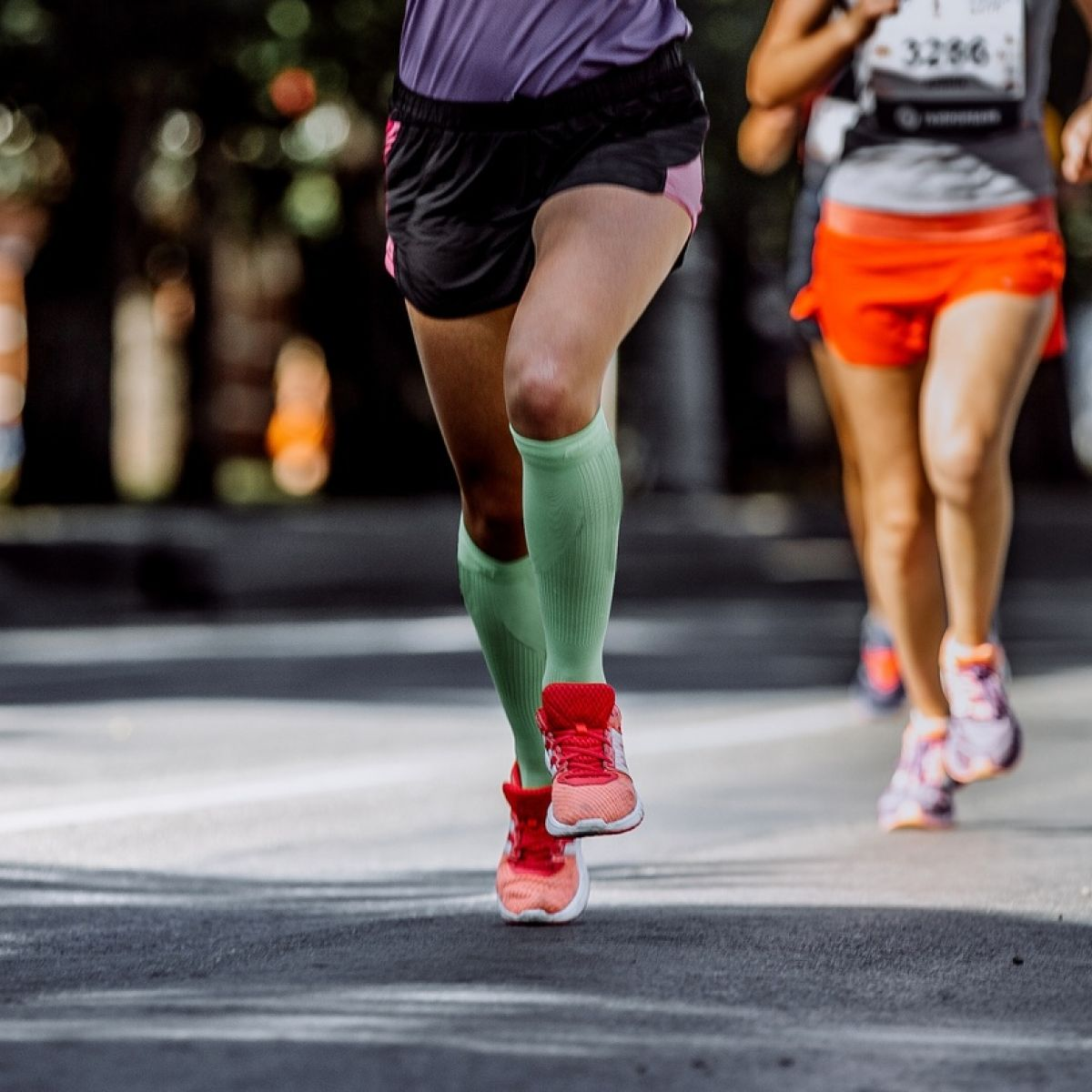 Why socks could be key for marathon runners