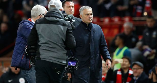 e8a6daf92 Manchester United manager Jose Mourinho after the Premier League match  against Newcastle at Old Trafford.