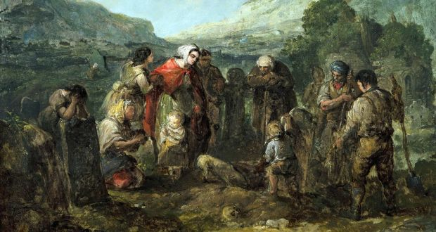 Art in Focus: The Village Funeral by Daniel MacDonald