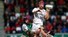 Pete Browne in action for Ulster against Connacht during a Pro 12 game in 2016. Photograph:  James Crombie/Inpho