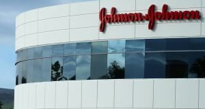 Johnson & Johnson reported slightly better-than-expected quarterly profit on Tuesday, helped by demand for its cancer drugs. Photograph: Mike Blake/Reuters