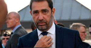 "Newly appointed French Interior minister Christophe Castaner: He left home at the age of 17 to escape a strict, military father, and says his marriage prevented him ""turning out badly"" in the years he frequented casinos in southern France. Photograph:  Getty Images"