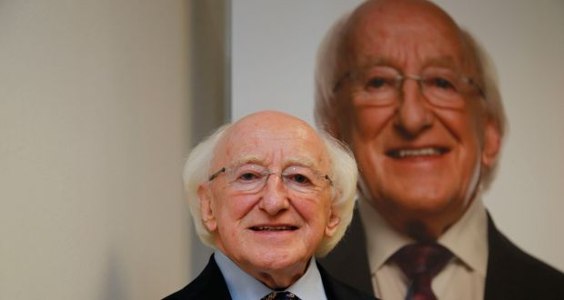 Michael D Higgins has been accused of treating presidential debates like radio phone-in show 'Liveline'. Photograph:  Nick Bradshaw/The Irish Times.