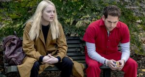 Maniac is an American psychological dark comedy-drama starring Emma Stone and Jonah Hill.