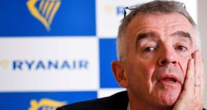 Michael O'Leary said he was   confident that Ryanair could resolve its dispute with German unions. Photograph: Getty