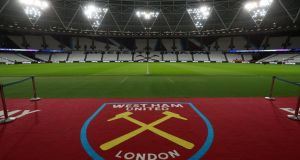 West Ham have suspended youth coach Mark Phillips after he took part in a march organised by the Democratic Football Lads Alliance (DFLA). Photograph: Catherin Ivill/Getty