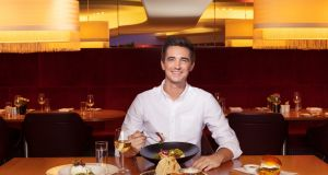 Look up: It's Donal Skehan's food being served on Virgin Atlantic flights, and in the airline's Clubhouses