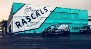 Rascals' new brewery and taproom in Inchicore, Dublin 8, which opens  to the public next week