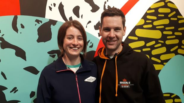 Emma Devlin and Cathal O'Donoghue, the husband and wife team behind Rascals brewery