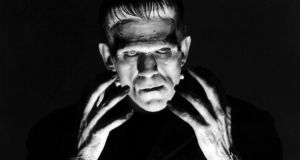 Boris Karloff in a promotional portrait for the 1931 film Frankenstein, directed by James Whale. Photograph: Silver Screen Collection/Getty Images