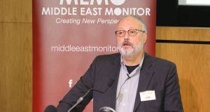 Saudi dissident Jamal Khashoggi:  was last seen entering the Saudi  diplomatic mission in Istanbul on October 2nd.
