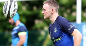 Nick McCarthy has had plenty of exposure to Leinster's first team – three starts and 18 runs off the bench in 2017/18. Photograph: Bryan Keane/Inpho