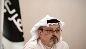 The dissident Saudi journalist  Jamal Khashoggi, who was reportedly tortured and killed in Saudi Arabia's consulate in Istanbul on October 2nd. Photograph: Mohammed al-Shaikh/AFP/Getty Images