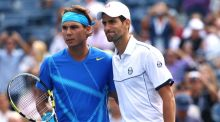 Rafael Nadal and Novak Djokovic are risking their good names by accepting invite to play in Saudi Arabia. Photograph: Getty Images