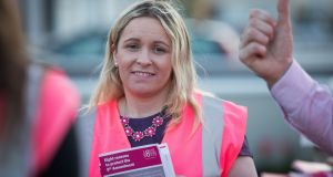 Independent  TD Carol Nolan has called for a referendum on how the termination of pregnancy will be funded after abortion becomes legal in the State. Photograph:  Tom Honan/The Irish Times.