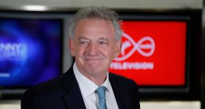 Peter Casey arriving at Virgin Media One studios prior to Wednesday's debate Photograph: Nick Bradshaw/The Irish Times