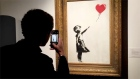 Banksy reveals that painting shredding did not actually go to plan