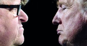 Resistance is not futile: Michael Moore takes on Donald Trump in Fahrenheit 11/9. Montage: The Irish Times